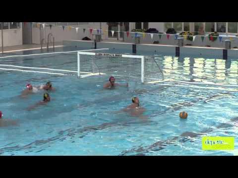 Waterpolo Navarra vs Echeyde. Partido completo