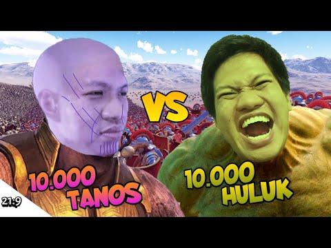 10000 THANOS VS 10000 HULUK!!! Ultimate Battle Epic Simulator Part 3 [INDONESIA] ~Thanos Sebel!!