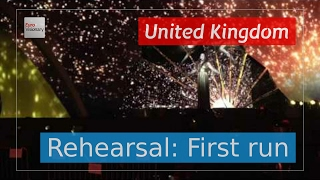 Video the full, first run through of the Second rehearsal of Lucie Jones from United Kingdom on stage in Kyiv. In the first run through, you'll get a good im...