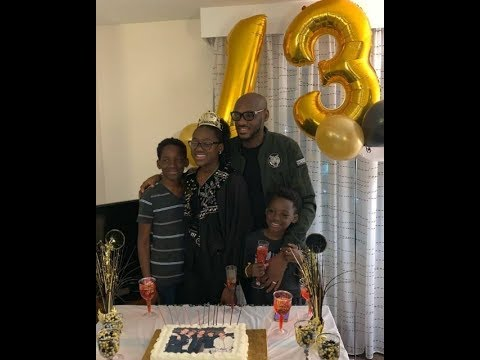 2face idibia surprise daughter on her birthday