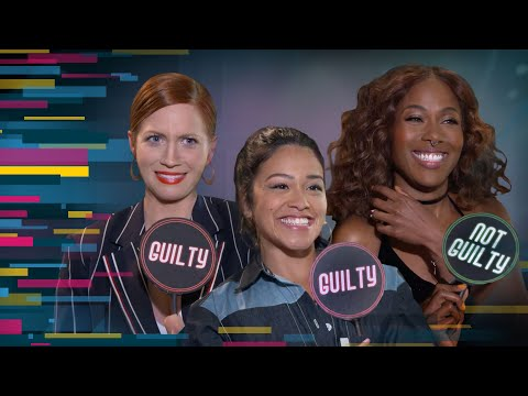 """'Someone Great' Stars Gina Rodriguez, Brittany Snow and DeWanda Wise Play """"Guilty or Not Guilty"""""""