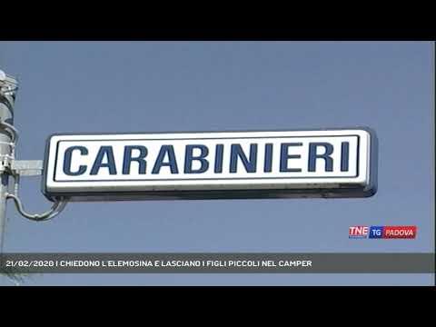 21/02/2020 | CHIEDONO L'ELEMOSINA E LASCIANO I FIGLI PICCOLI NEL CAMPER