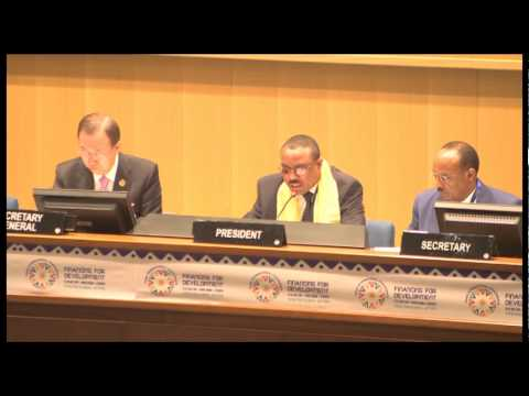 Opening Plenary – 3rd Financing for Development Conference