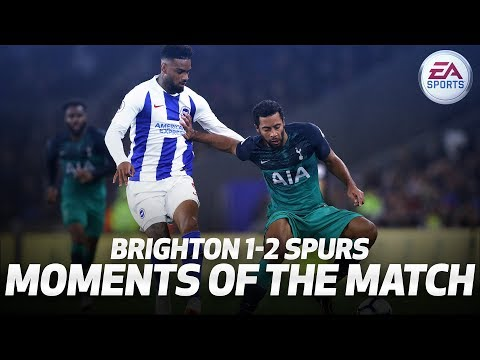 Video: KIERAN TRIPPIER'S DOUBLE SKILL | MOMENTS OF THE MATCH | BRIGHTON 1-2 SPURS