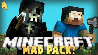 "Minecraft: MAD PACK Lets Play | Ep.4 ""BEST FIND EVER!!!!"" W/ AciDic BliTzz&Taz (Modded Survival)"
