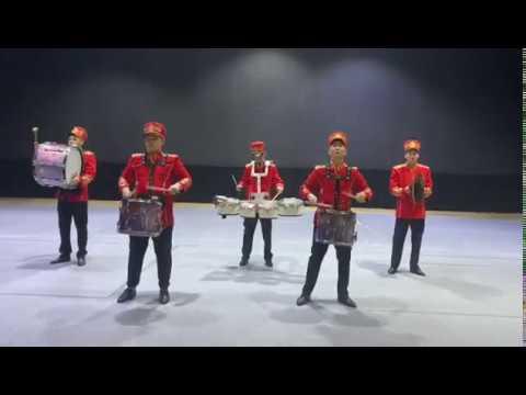 Шоу барабанщиков Государственной академической филармонии г. Нур-Султан