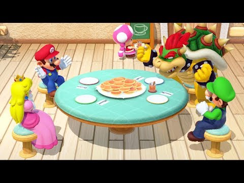 Super Mario Party - All Food Minigames