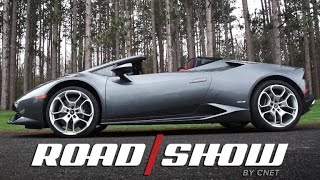Lamborghini's Huracan Spyder is drop-top supercar perfection by Roadshow