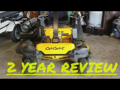 Cub Cadet  RZT 2 year review after 53 hours of use