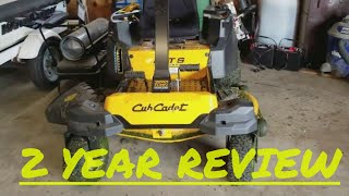 6. Cub Cadet  RZT 2 year review after 53 hours of use