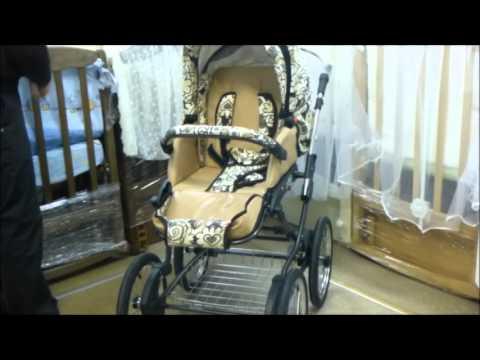 Видеопрезентация новинки Zippy Lux: люксовая версия популярной коляски