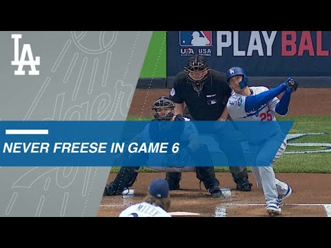 Video: NLCS Gm6: Freese hits yet another Game 6 home run