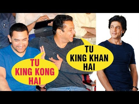 Salman Khan Calls Shahrukh 'KING' And Aamir 'KING
