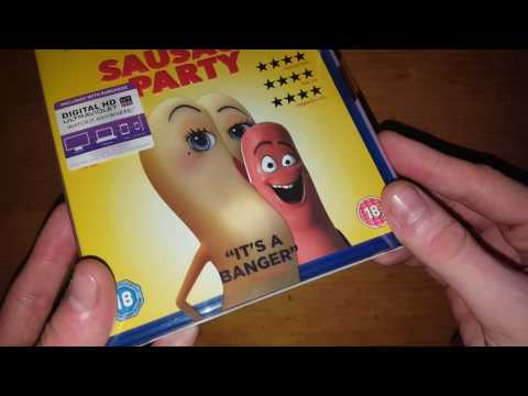 Sausage Party 2016 UK Blu ray Unboxing