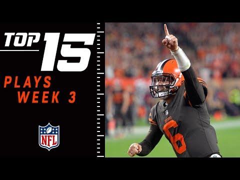 Top 15 Plays of Week 3 | NFL 2018 Highlights (видео)
