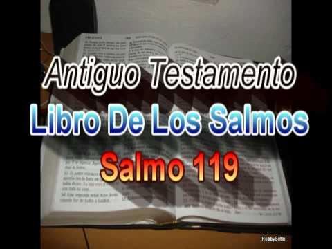 Libro de Los Salmos. (119 d 150) --  Antiguo Testamento