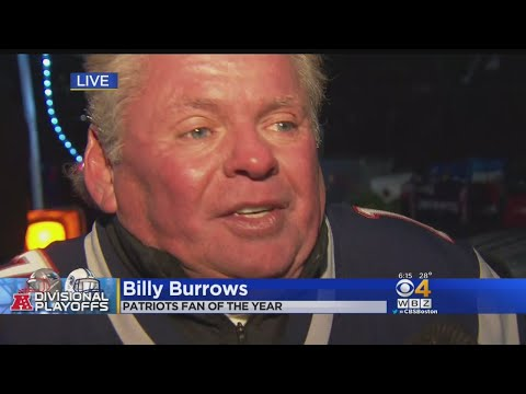 Billerica Man Who Is Patriots Fan Of The Year In Foxboro