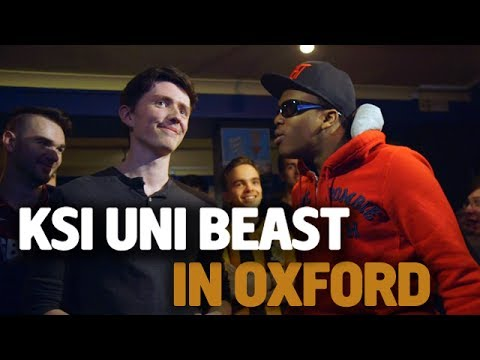 KSI Uni Beast – Oxford University