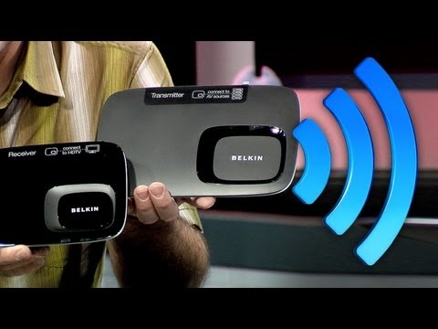 Affordable Wireless HDMI: DVDO Air vs. Belkin ScreenCast AV4 120,000 lumens of Digital Projection!