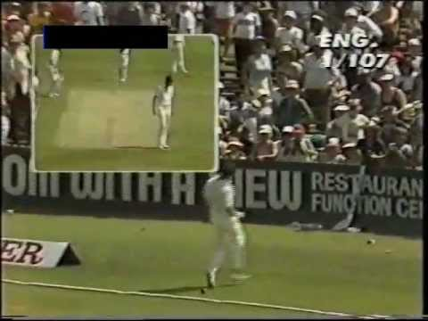Gower - One of Gower's celebrated little gem innings, finally on youtube! REJOICE! GOWER POWER!