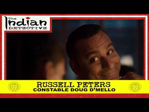 The Indian Detective - Russell Peters as Doug D'Mello - Trading Card - 1/15