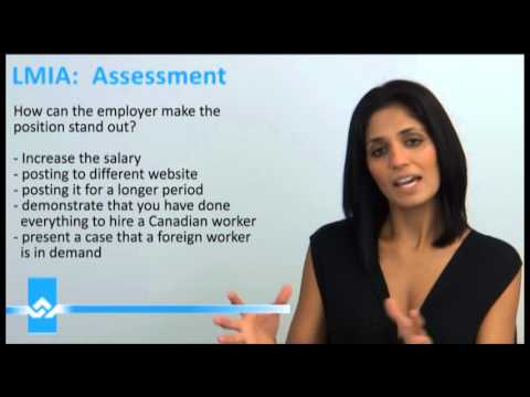 LMIA Assessment Video