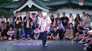 Kei vs Greenteck – Red Bull BC One Japan Camp 2017 SAMURAI POPPIN 1on1 WORLD FINAL SEMI FINAL (Another angle)