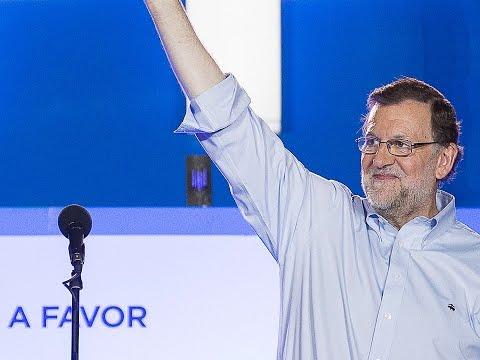 """Rajoy: """"Hemos ganado las elecciones y reclamamos nuestro derecho a gobernar"""""""