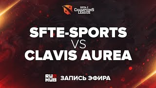 SFTe-sports vs Clavis Aurea, D2CL Season 13, game 2 [Mila]