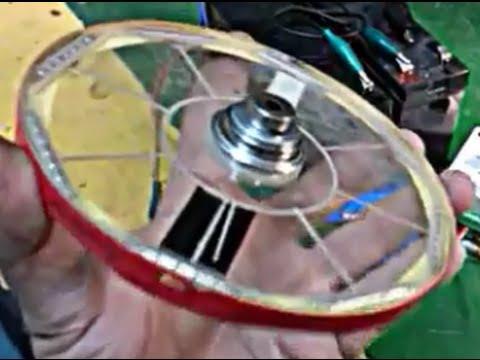 Magnet motor levitation! high speed! low consumption! (видео)