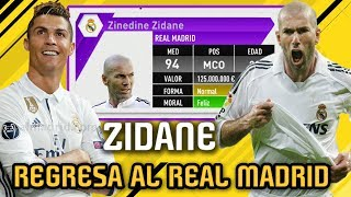 Video QUE PASARIA SI ZINEDINE ZIDANE REGRESARA A JUGAR POR EL REAL MADRID!!! - FIFA 17 Modo Carrera MP3, 3GP, MP4, WEBM, AVI, FLV Mei 2017