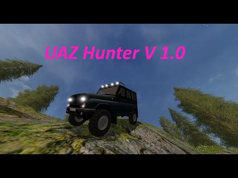 UAZ Hunter Farming simulator 17 v1.0