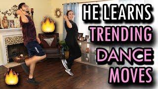 Video Teaching My Boyfriend Trending Dance Moves!! MP3, 3GP, MP4, WEBM, AVI, FLV Mei 2018