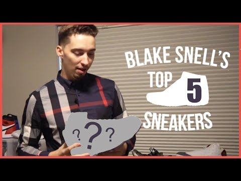 Video: Blake Snell rates the top 5 sneakers he owns
