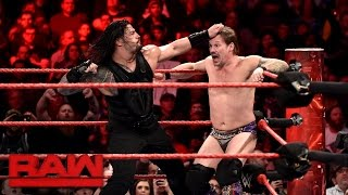 Nonton Roman Reigns Vs  Chris Jericho   United States Championship Match  Raw  Jan  23  2017 Film Subtitle Indonesia Streaming Movie Download
