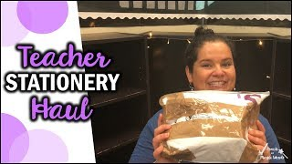 Teacher Stationery Haul | Collab with Katie @ For Teachers
