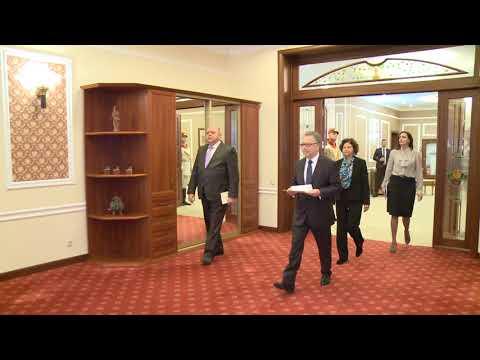 Președintele Igor Dodon a primit scrisorile de acreditare a Ambasadorului agreat al Republicii Franceze în Republica Moldova