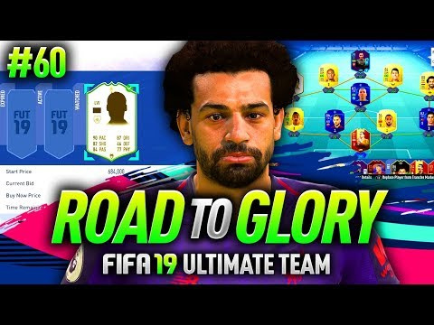 FIFA 19 ROAD TO GLORY #60 - MY FIRST ICON PURCHASE!
