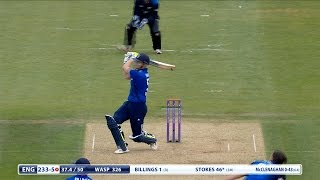 Highlights - England lose by three wickets to New Zealand at Ageas Bowl