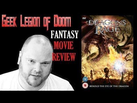 DRAGONS RAGE aka KNIGHTS OF BLOODSTEEL ( 2009 Christopher Lloyd ) Fantasy Movie Review