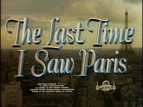 Movie - The Last Time I Saw Paris (1954)