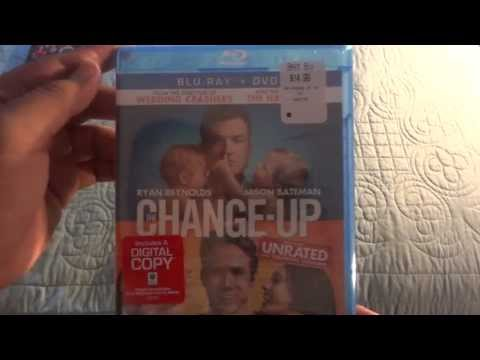 The Change Up Unboxing (Blu-Ray+DVD)