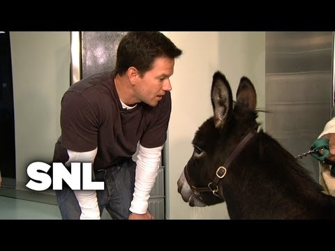 Backstage: Mark Wahlberg Confronts Andy Samberg - SNL