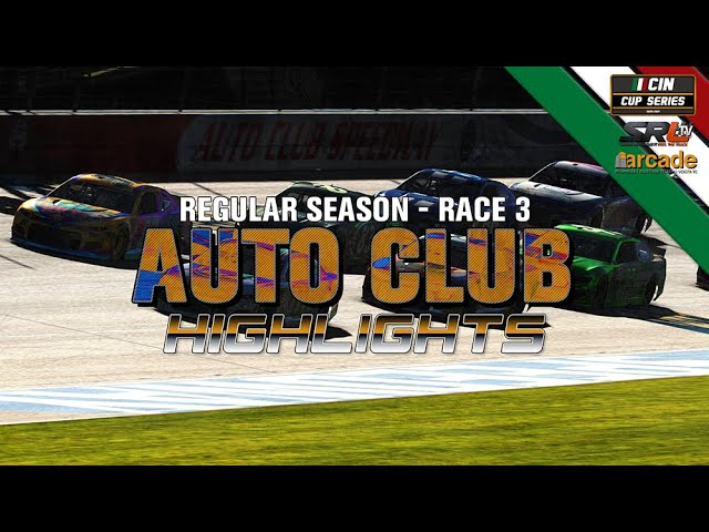 CIN CUP SERIES 2020 Gara 3 SiWeGO Auto Club Speedway 200 Highlights
