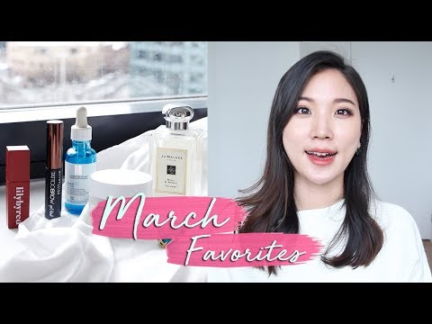 🐶MARCH FAVORITEES 2018 • Liah Yoo