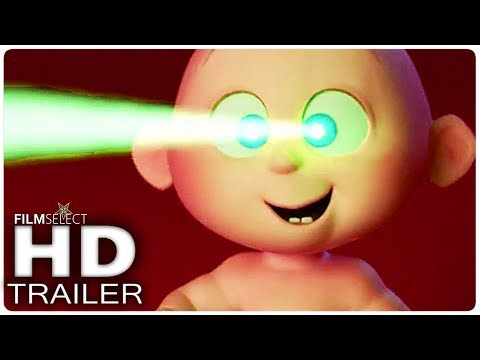 THE INCREDIBLES 2 Teaser Trailer (2018)