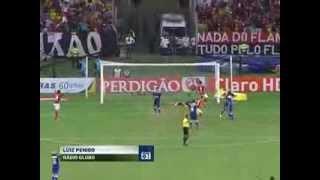 REDAÇÃO AM 29.08.2013 Gol de Elias Flamengo 1 x 0 Cruzeiro