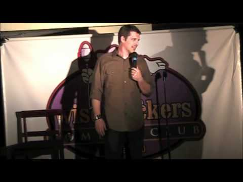 Drunk woman heckles comedian Nathan Timmel at comedy club