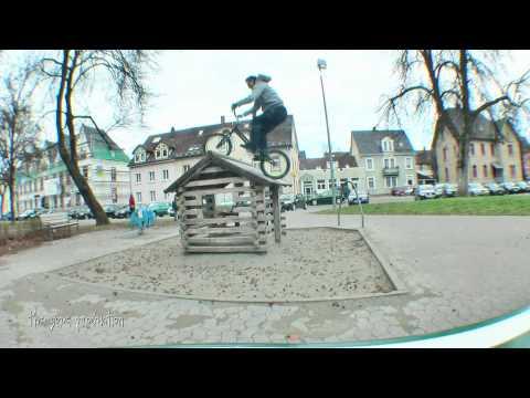 Biketrial in Villingen und Freiburg