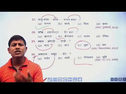 Reasoning (Analogy)|| PART:-2 || SSC,BANK, RAILWAY,POLICE EXAM